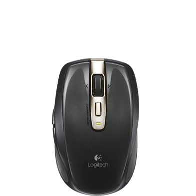 Anywhere Mouse MX, top view
