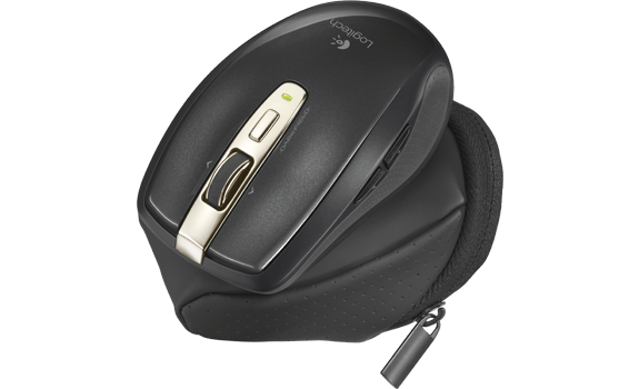 Anywhere Mouse MX with travel pouch