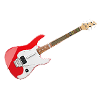 Logitech Wireless Guitar Controller Red