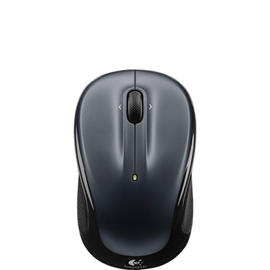 Wireless Mouse M325, dark grey, top view