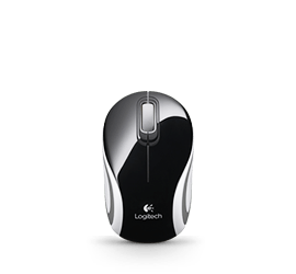 Wireless Mini Mouse M187 Black Glamour Image MD