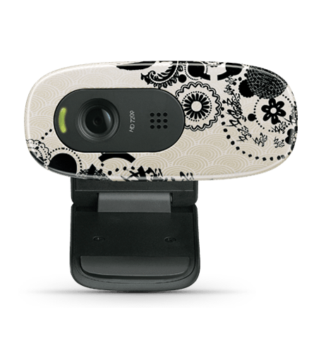 HD Webcam C270 Ink Gears Glamour Image LG