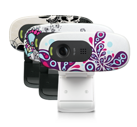 HD Webcam C270 FY13C EMEA Multi Glamour Image MD