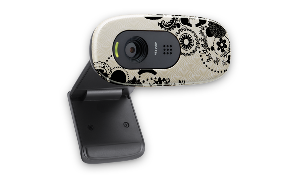 HD Webcam C270 Ink Gears Glamour Image Gallery 2