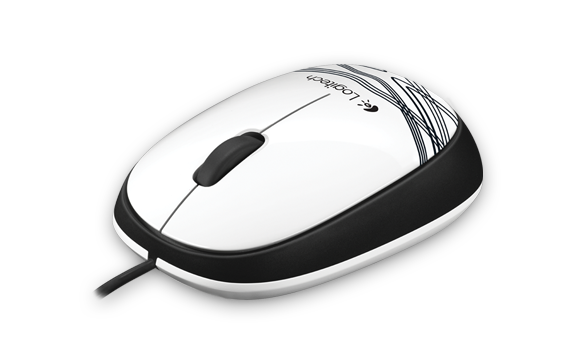 Logitech Mouse M105 White Gallery 4