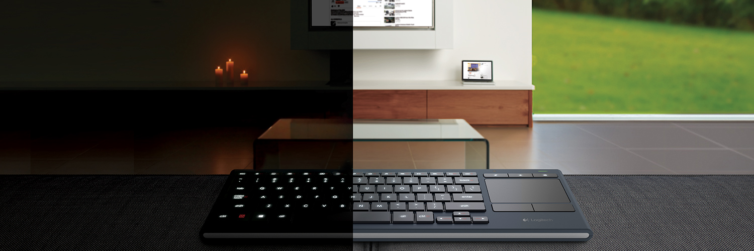 Illuminated Living-Room Keyboard K830