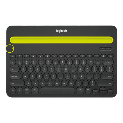 Image du produit de Bluetooth Multi-Device Keyboard K480