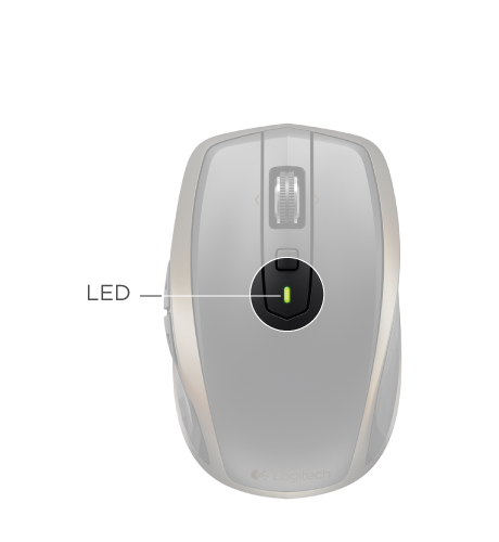 GUIDE D'INSTALLATION de la souris sans fil Logitech Anywhere