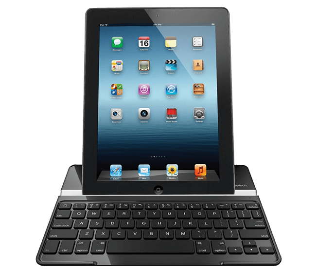 Ultrathin Keyboard Cover with iPad