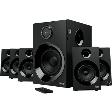 Image du produit de Z607 5.1 Surround Sound Speaker System