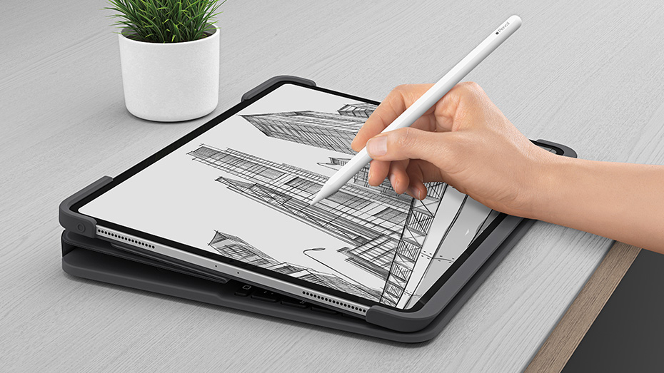 slim folio pro used in sketch mode