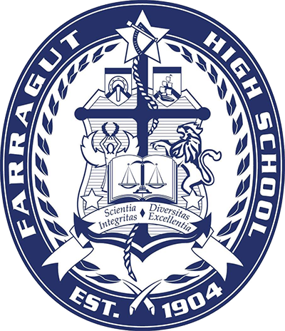 Farragut High School logo