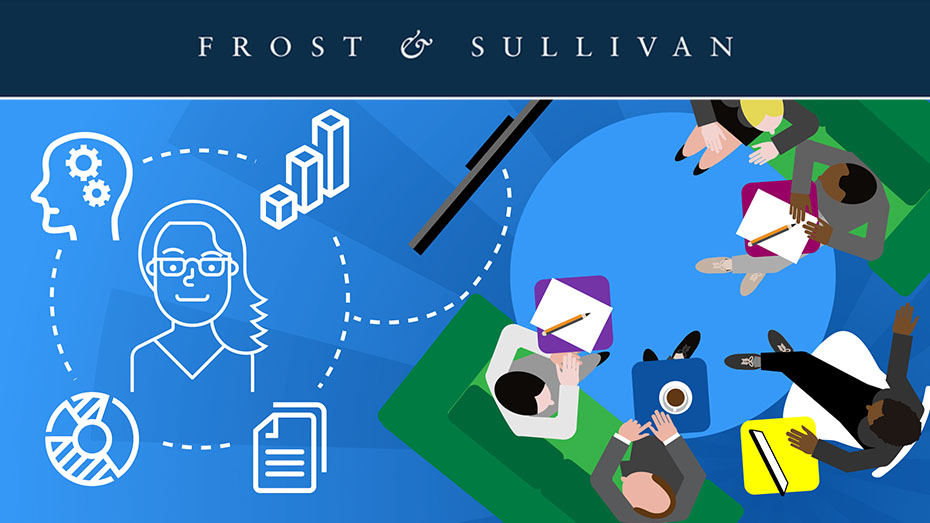 infographic - Frost and Sullivan's step into the future of meeting rooms