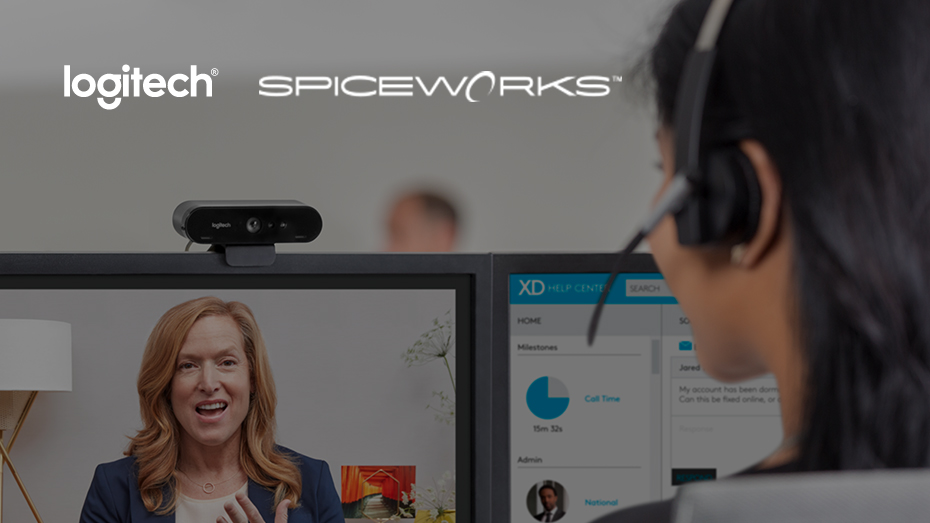 Logitech Spiceworks Video MeetUp: Logitech BRIO the Worlds First HDR Capable Webcam